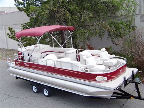 top rated tritoon boats tahoe 24 tmlt er tritoon boat for sale from usa