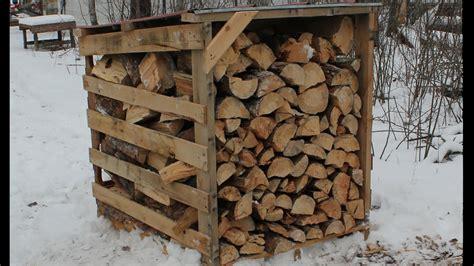 easy firewood storage thehomesteadingboardscom