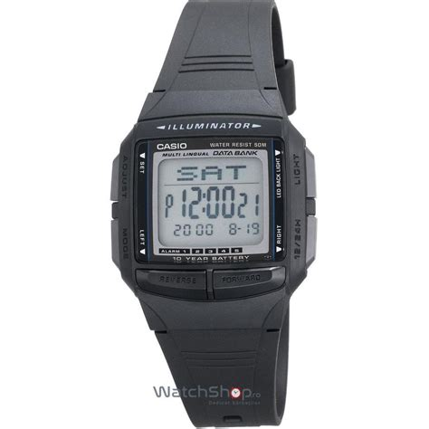 Casio Db 36 1a ceas casio data bank db 36 1avdf baterie 10 ani db 36 1a