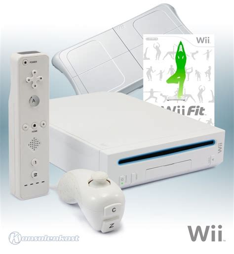 wii fit console wii console white incl wii fit official balance