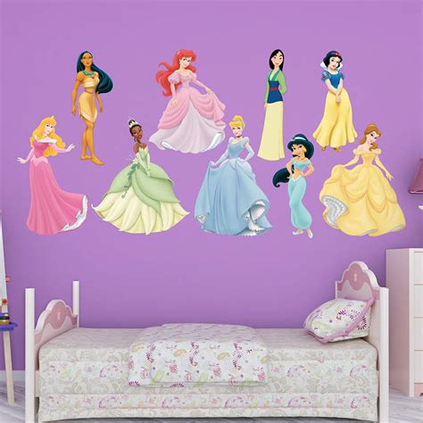 disney princess stickers for walls disney princess collection wall decal shop fathead 174 for disney princesses decor