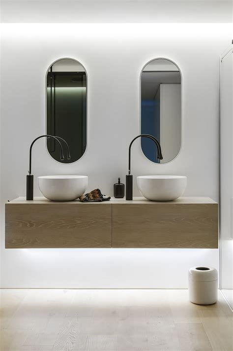 bathroom floating vanity units ingenious contemporary bathroom by minosa design