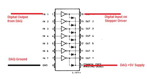 Uln2003 A solved increasing digital output current on usb 6001 with uln2003a discussion forums