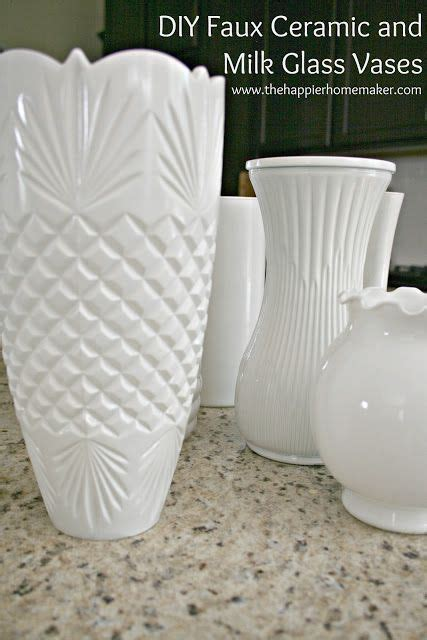 Cheap Milk Glass Vases by Learn How To Take Cheap Dollar Store Vases And The