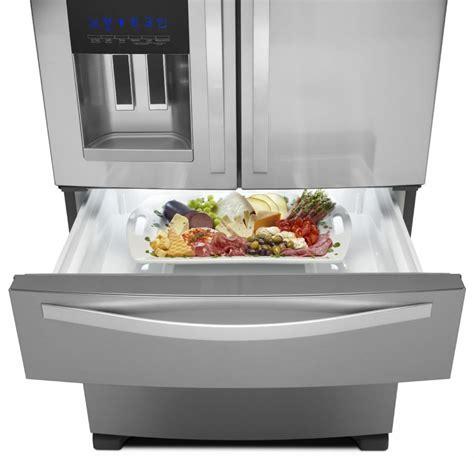 Refrigerator Bins And Drawers by Whirlpool Wrx735sdbm 36 Inch 4 Door Door