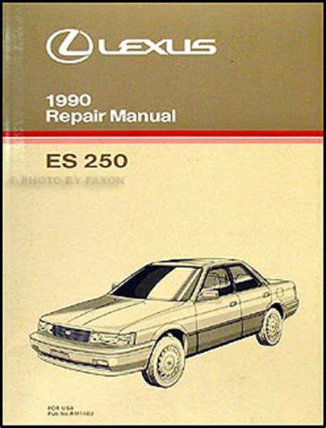 motor auto repair manual 1990 lexus es head up display 1990 lexus es 250 repair shop manual original