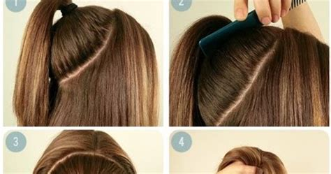 haircut for medium hair step by step perfect summer ponytail hairstyle for medium hair