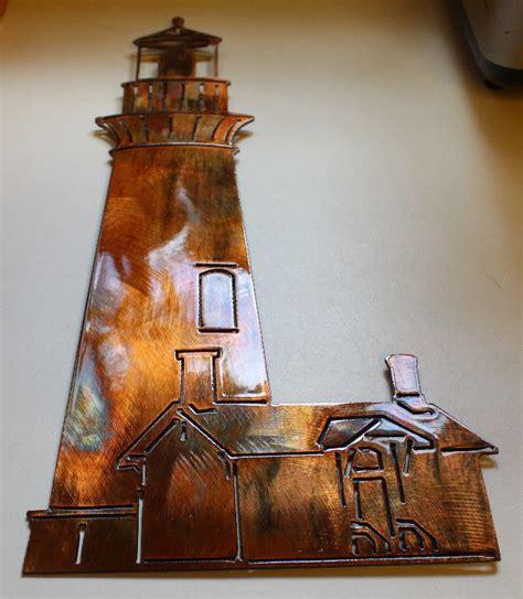 lighthouse nautical beach home decor metal lighthouse new lighthouse metal wall art
