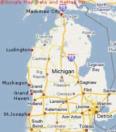 Northern Michigan Map by Similiar Northern Michigan City Map Printable Keywords
