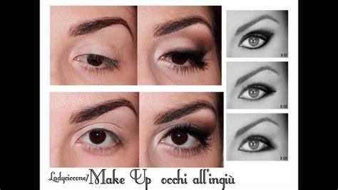 tutorial eyeliner occhi piccoli trucco correttivo occhi all ingi 249 piccoli e semplici