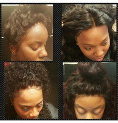 illusion bob hair cuts bob w illusion part sew ins quick weaves pinterest