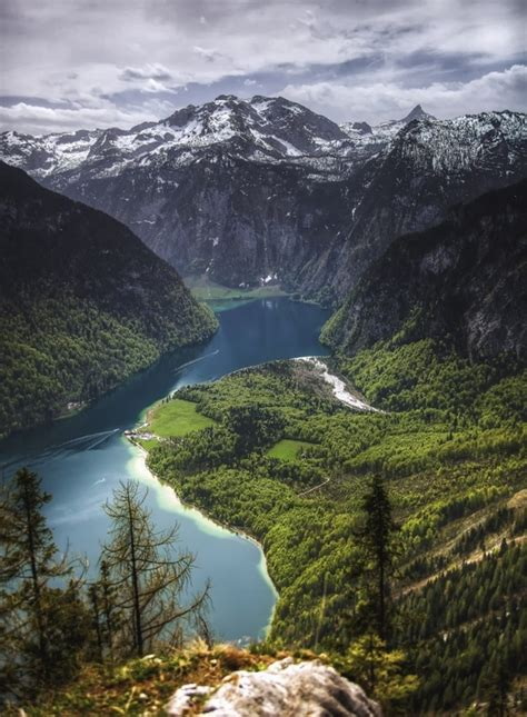 fjord lake bavarian fjord lake knigssee bavaria germany photo by