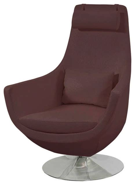 Astro Comfortable Swivel Chair Brown Contemporary Comfortable Swivel Chairs