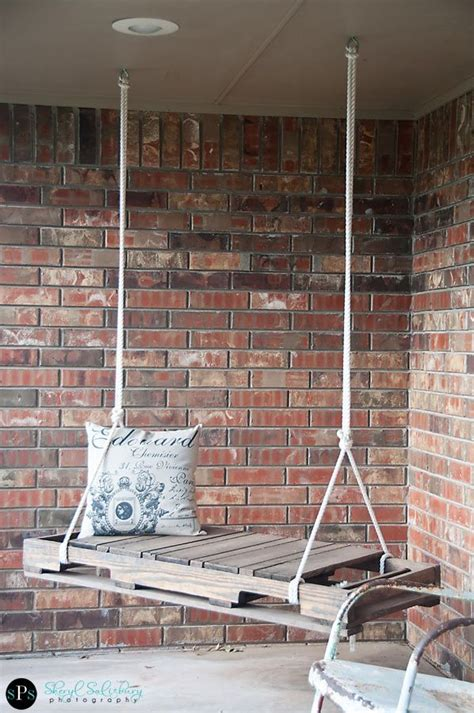 pallet swing instructions yard decor archives page 2 of 4 home and heart diy