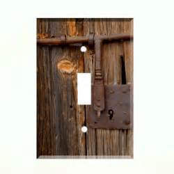Barn Door Electric Rustic Barn Door Light Switch Plate Wall Cover Country Farm Decor Ebay