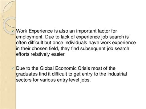 How Important Is Work Experience For Mba by Unemployment Risk Associated With Mba