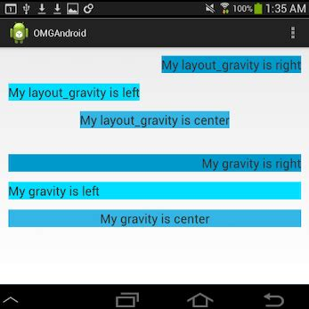 layout gravity make your first android app part 2 3