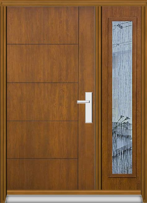 Fiberglass Door Manufacturers by Richerson Mastergrain Fiberglass Door With Side Lite