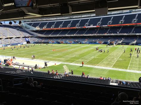 section 8 in chicago suburbs soldier field section 232 chicago bears rateyourseats com