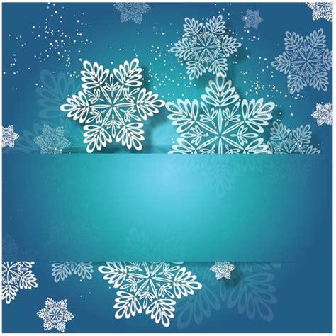 snowflakes template invitation free vector snowflakes invitation card free vector in