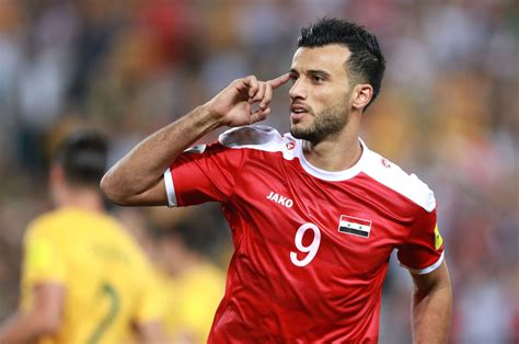 syria striker omar al somah   goals   matches