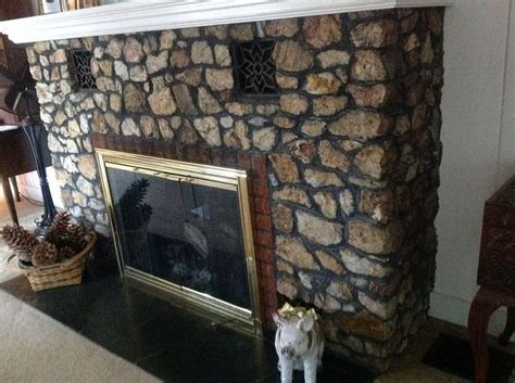 Clean Rock Fireplace by Q How To Clean Quartz Rock Fireplace Cleaning Tips