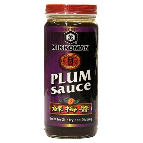 Plumb Sauce by Kikkoman Plum Sauce 9 4 Oz