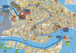 Venice Map Italy by Venice Tourist Map Venice Mappery