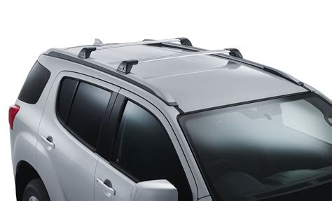 isuzu mux ls t roof racks rv daily
