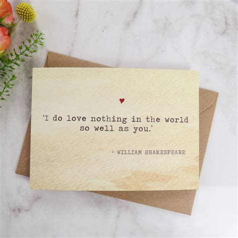 shakespeare valentines literature valentines card shakespeare quote by literary