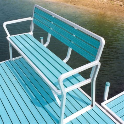 boat dock benches boat dock accessories archives mc docks