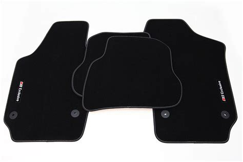 quot exclusive line quot floor mats for vw polo 5 6r ab 2009 lhd
