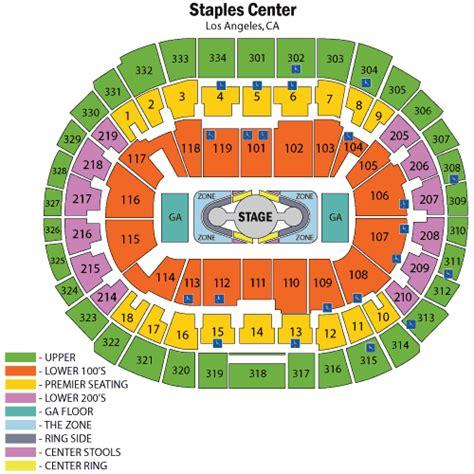 staples center seating chart and nicki minaj june 20 tickets los