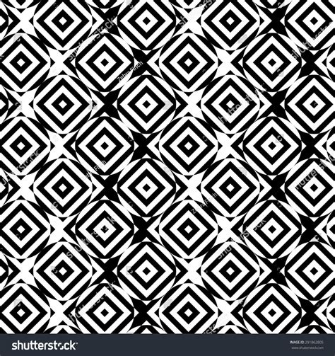 pattern of alternating black and white squares black white alternating circles cut through stock vector