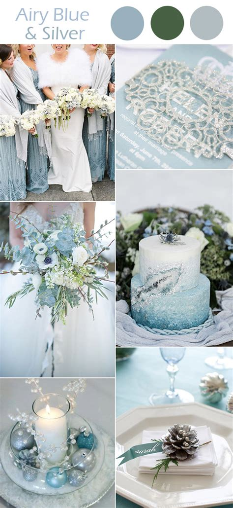 winter color schemes the best 10 winter wedding colors to inspire