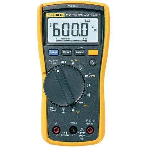 Digital Multimeter Fluke 117 Fluke 117 Digital Multimeter Fluke 117 With Fluke 2ac Voltalert Voltage Tester From Conrad