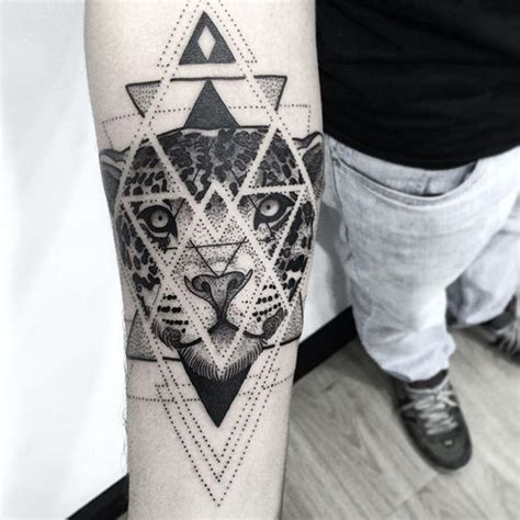 Geometric Jaguar Tattoo | best 25 geometric jaguar tattoo ideas on pinterest