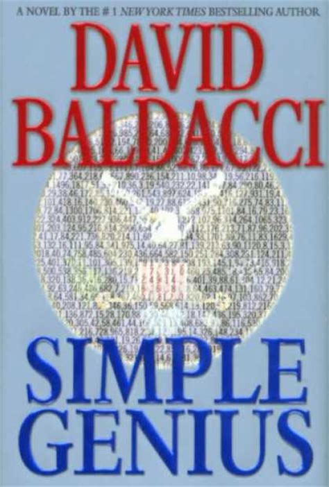 David Baldacci Simple Genius | simple genius by david baldacci quest for the great