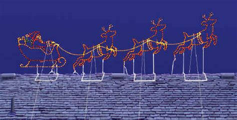 rooftop santa and sleigh best 28 santa and reindeer roof decoration rooftop santa with sleigh and reindeer