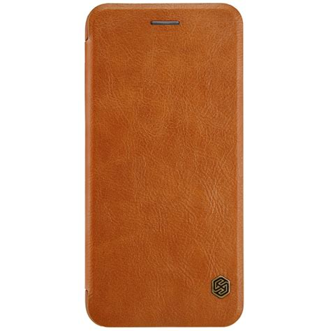 Iphone 7 7s Plus Flip Leather Cover Nillkin Qin nillkin qin series leather for apple iphone 8 plus iphone 7 plus