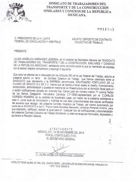 contrato colectivo de educacion 2016 contrato colectivo de trabajo quot supuestamente quot para todas
