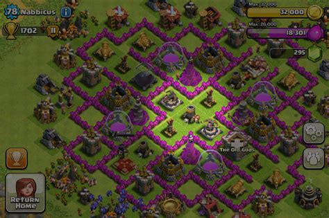 best wall pattern in clash of clans clash of clans top 8 tips tricks and cheats imore