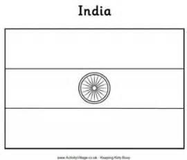 india flag printables