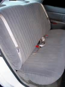 Seat Covers Unlimited Rear Seat Installation Buick Somerset Seat Covers