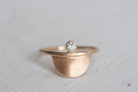Etsy Handmade Rings - 5 minimal engagement rings 1k etsy