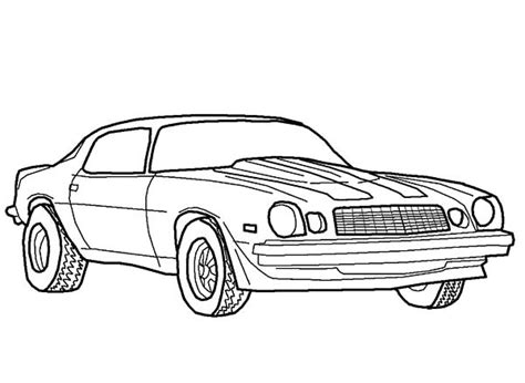 coloring page muscle cars muscle car coloring pages bestofcoloring com