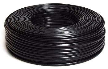 Kabel Pengkita Twistie 100m Black pcland gembird flat telephone cable stranded wire 100m black