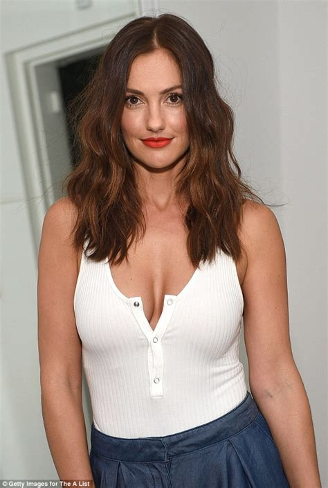 Maura Stripe Blouse Blouse And Black minka shows plenty of cleavage in low cut white