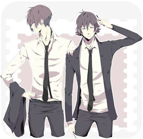 anime cool boy with tuxedo anime boys in suits suit and tie anime