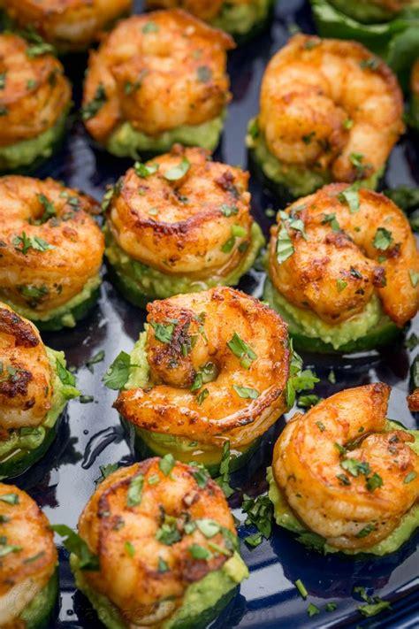 appetizers shrimp avocado cucumber shrimp appetizers natashaskitchen